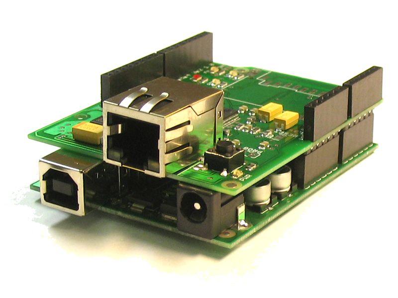 Arduino WiFly Shield, RN-131C, SC16IS750, 80211b/