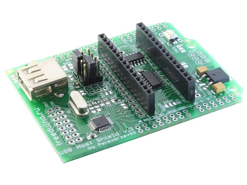 Usb host shield v подключение периферии к arduino